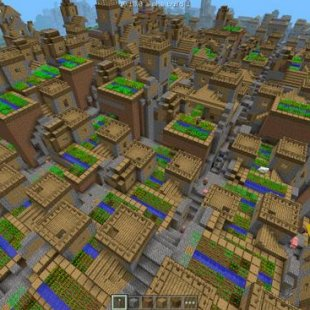 SimCity-like village in 0.10.0