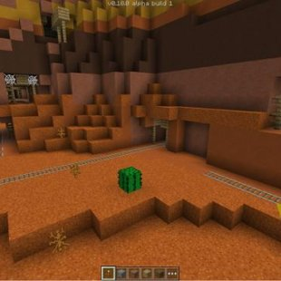 Mineshafts in Mesa Biome
